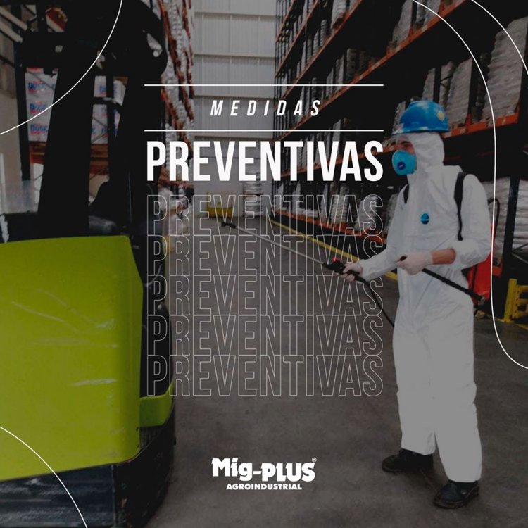 Medidas preventivas ao Covid-19 - Desinfecção