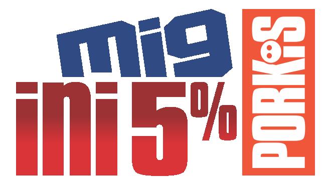 MIG INI PORKI'S 5%