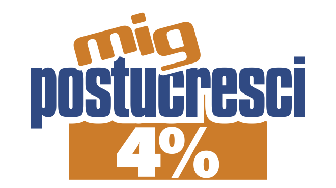 POSTUCRESCI PLUS 4%