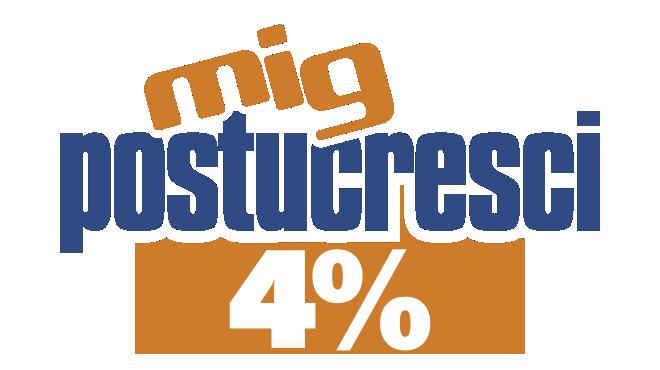 POSTUCRESCI PLUS 4%