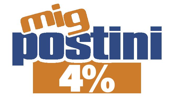 POSTINI PLUS 4%