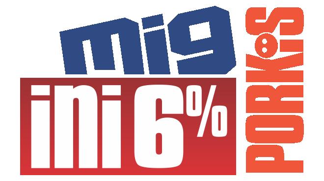 MIG INI PORKI'S 6%