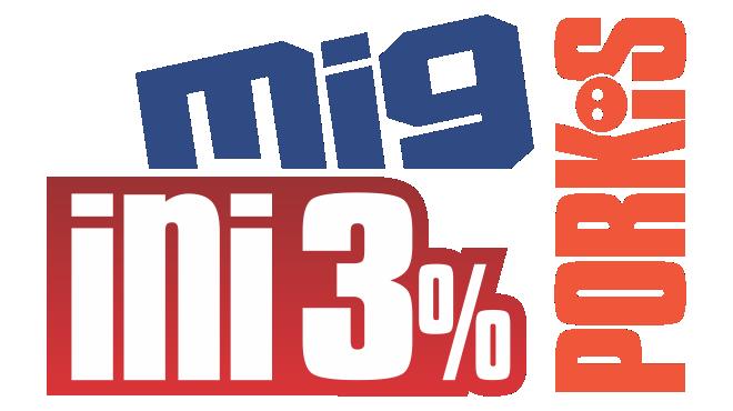 MIG INI PORKI'S 3%